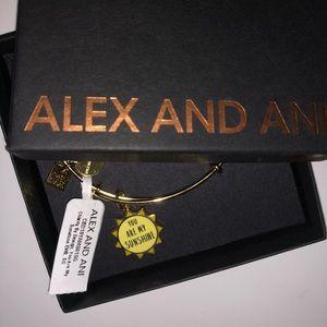 "Alex and Ani bracelet ""You are my sunshine"""